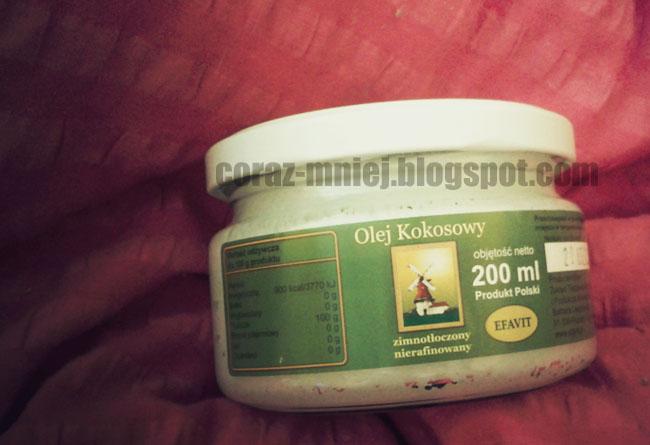 Olej kokosowy | pierwsze wrażenia