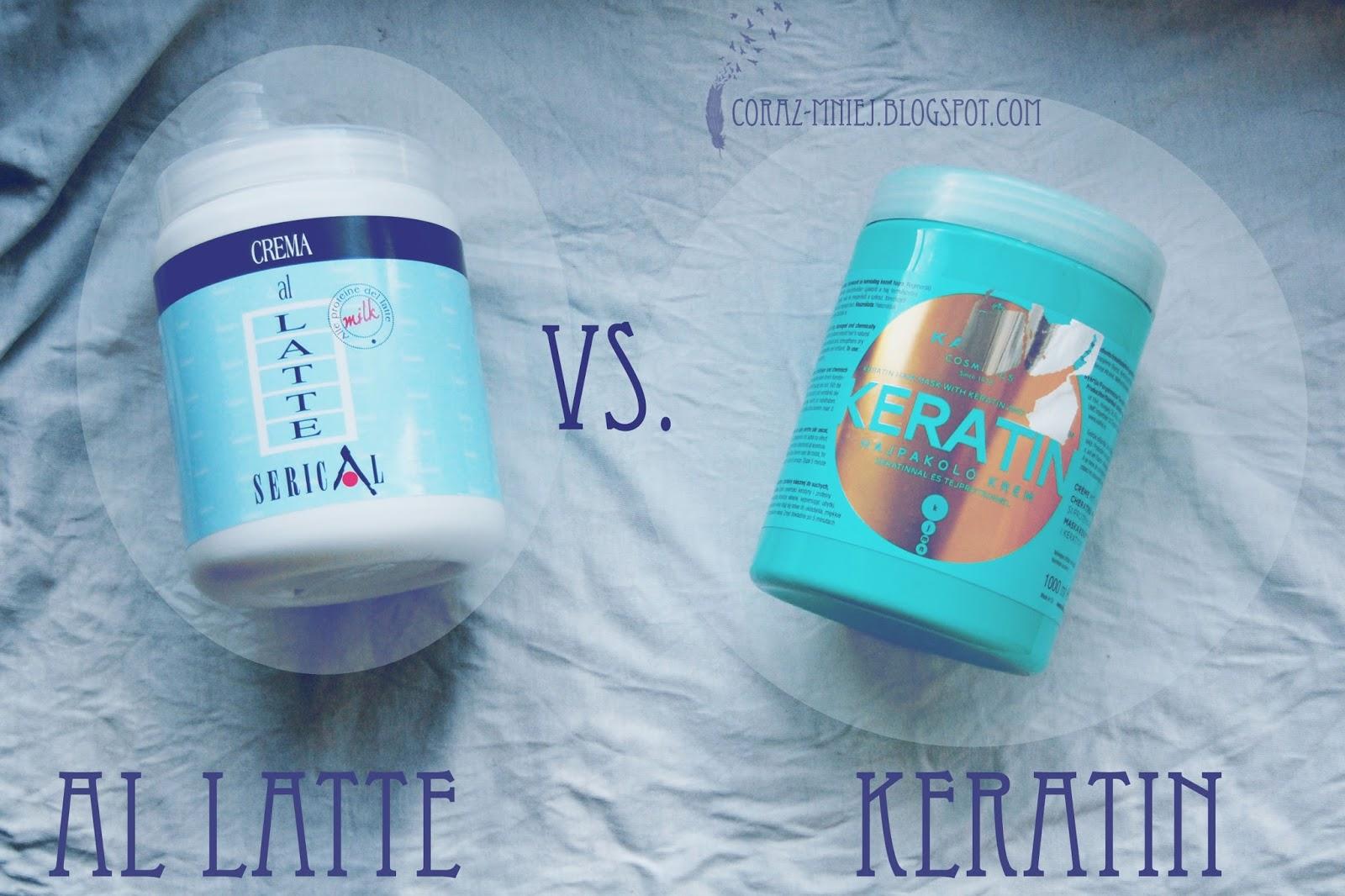Kallos Keratin kontra Al Latte. Kto wygra?