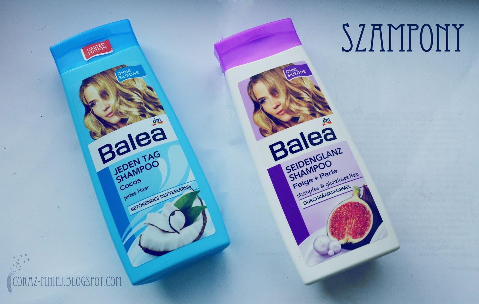 Nowości kosmetyczne Balea | wrzesień 2013