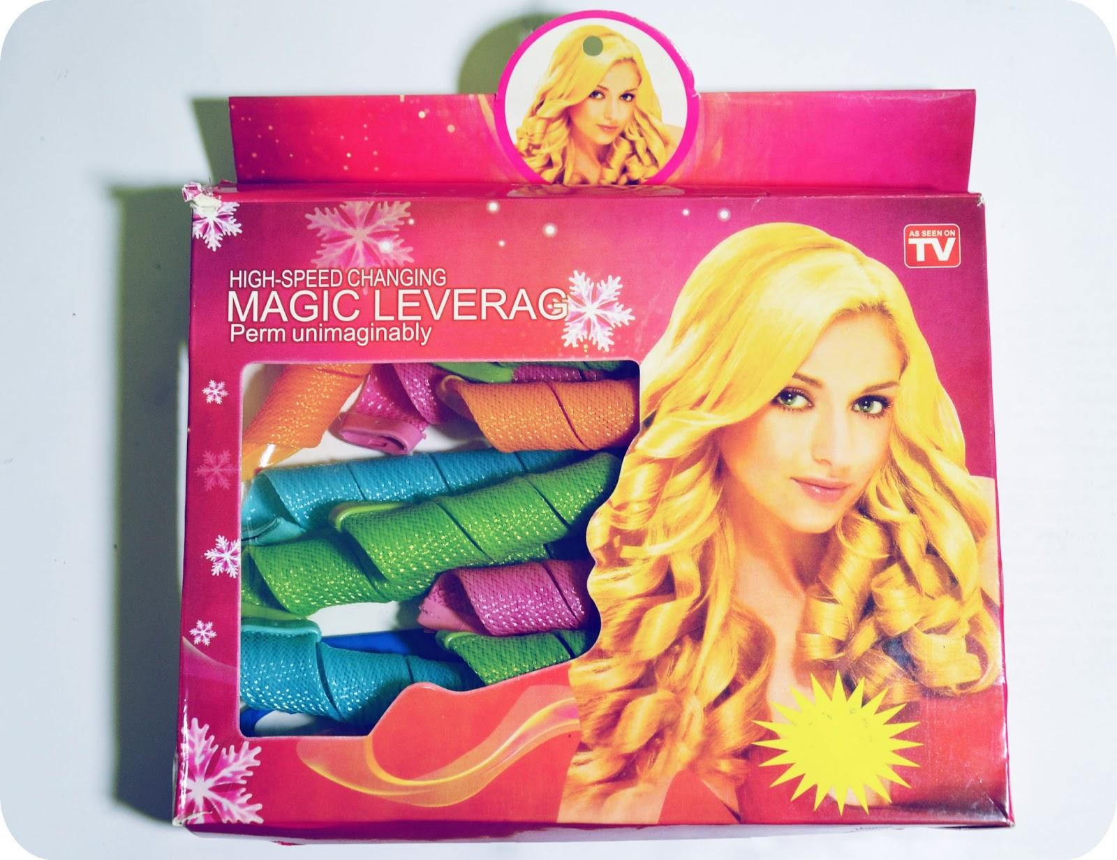 Magic Leverag, innowacyjna lokówka bez użycia ciepła