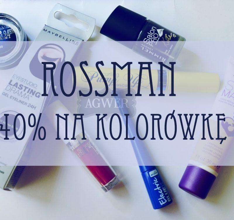 Promocja Rossmann | listopad 2013