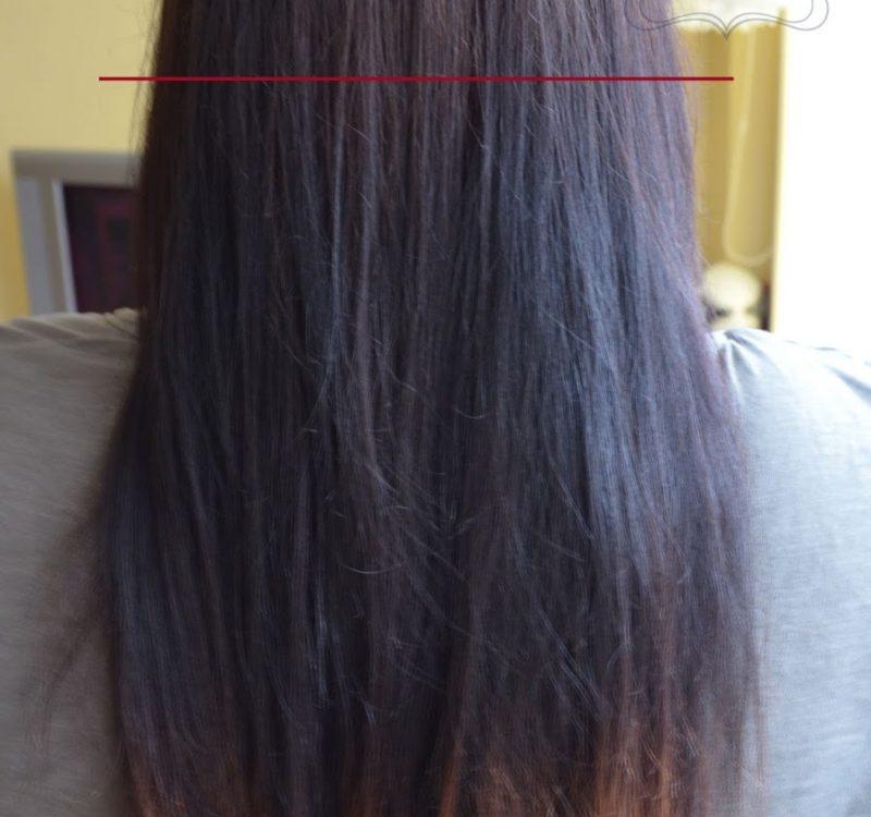 Aktualizacja włosów | grudzień 2013, farbowanie Color&soir metodą na olej