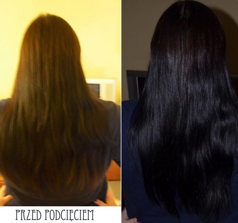 Aktualizacja włosów styczeń + podcięcie końcówek