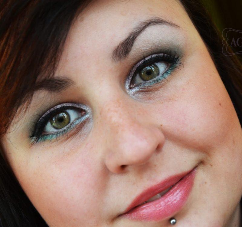 # Wielkanocny makijaż i paznokcie!