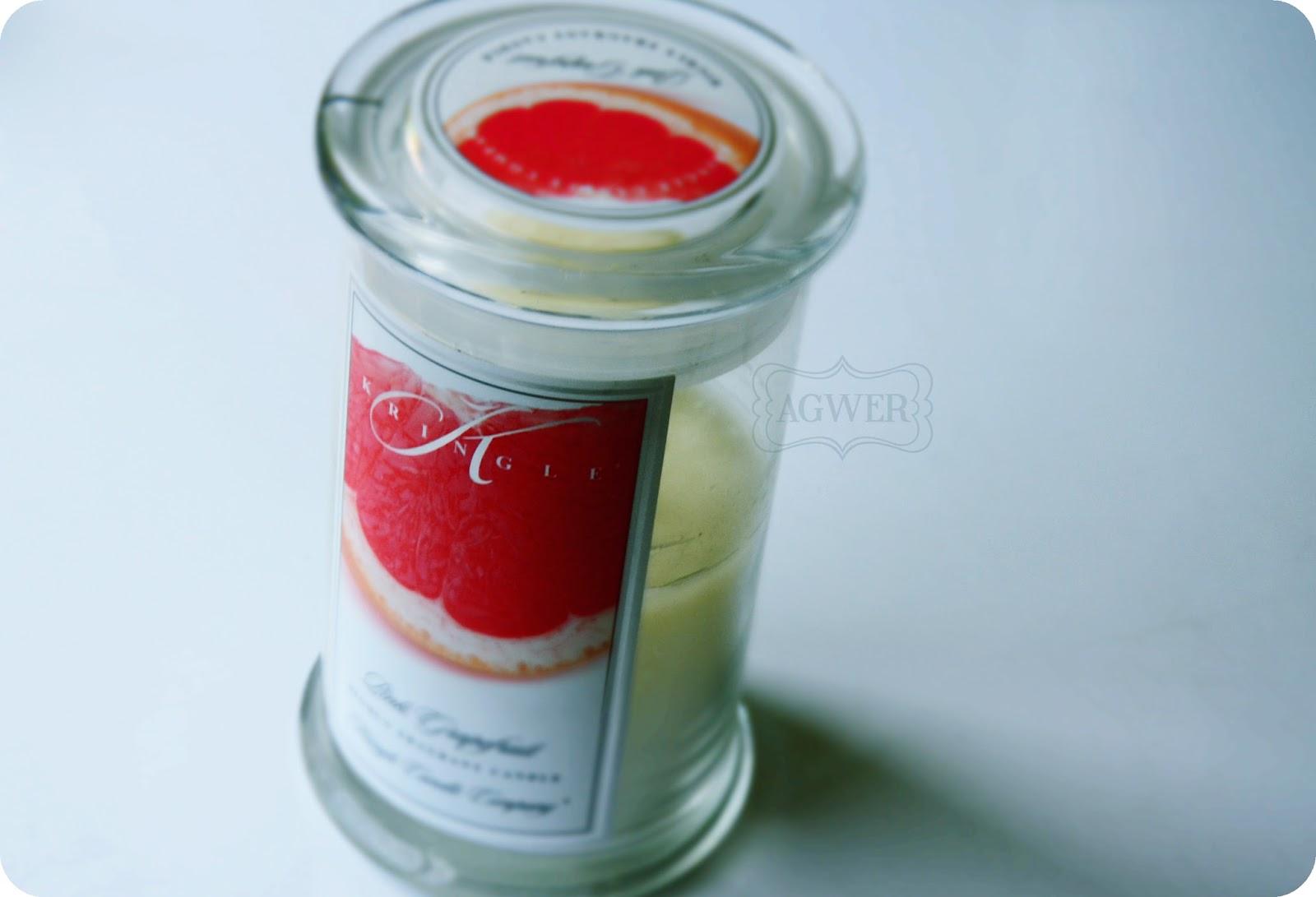 # Prosto z pachnącej szuflady: Grejpfrutowa Świeca z Kringla