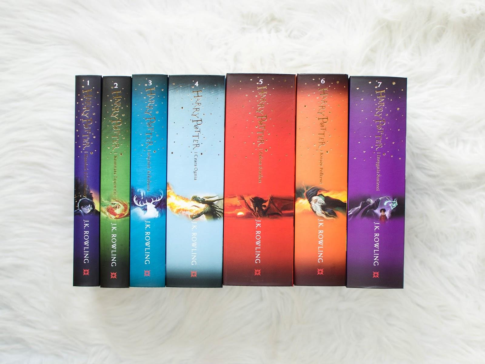 Harry Potter | książki mojego dzieciństwa