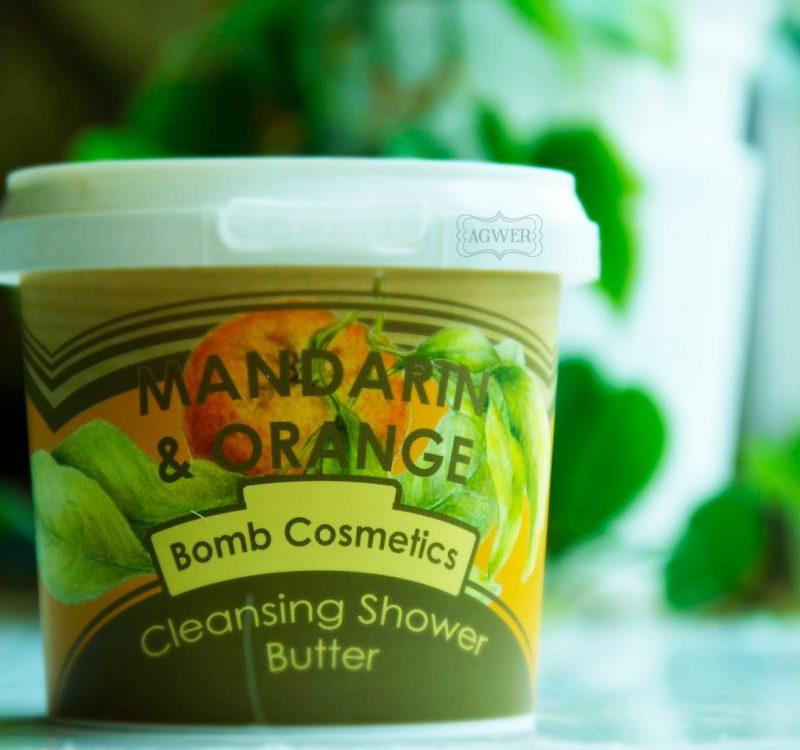 Mandarynkowe masło pod prysznic, Bomb Cosmetics