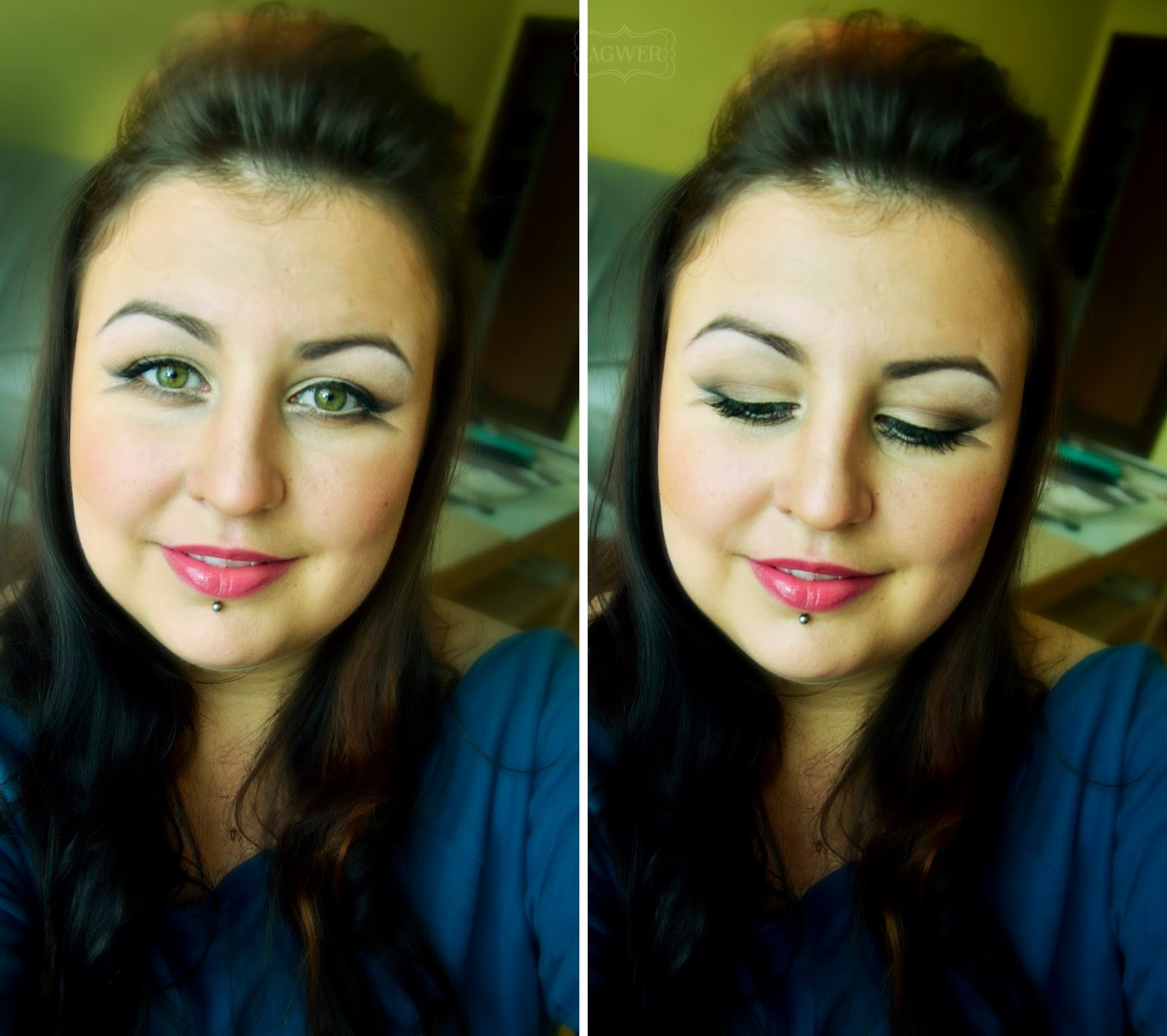 Makijaż kosmetykami Inglot i MAC