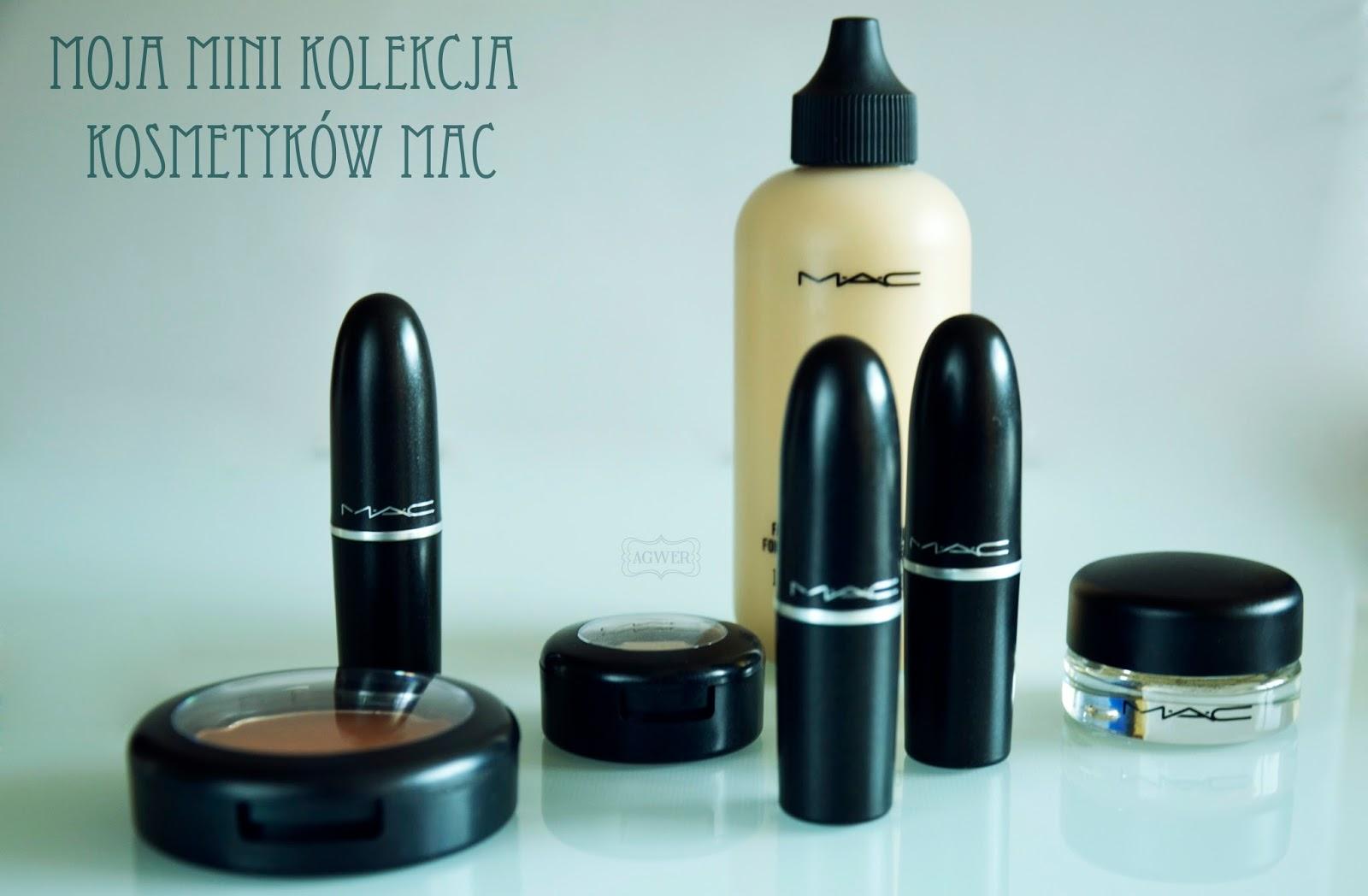 # Moja mini kolekcja kosmetyków MAC