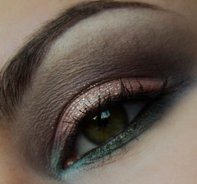 Makijaż Rodeo Belle Zoeva z folią z Makeup Revolution