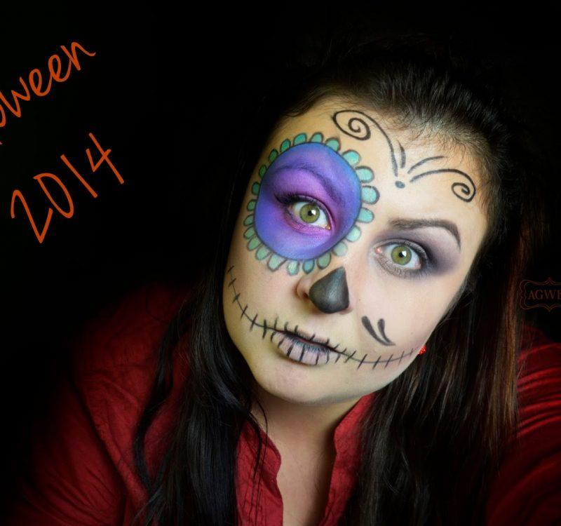 Makijaż na Halloween 2014 | Sugar Skull