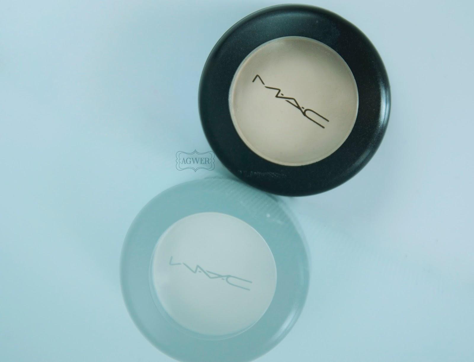# MAC eyeshadow: Vanilla