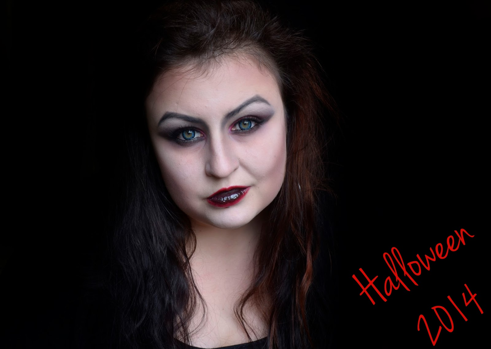# Halloween make up: Wampir