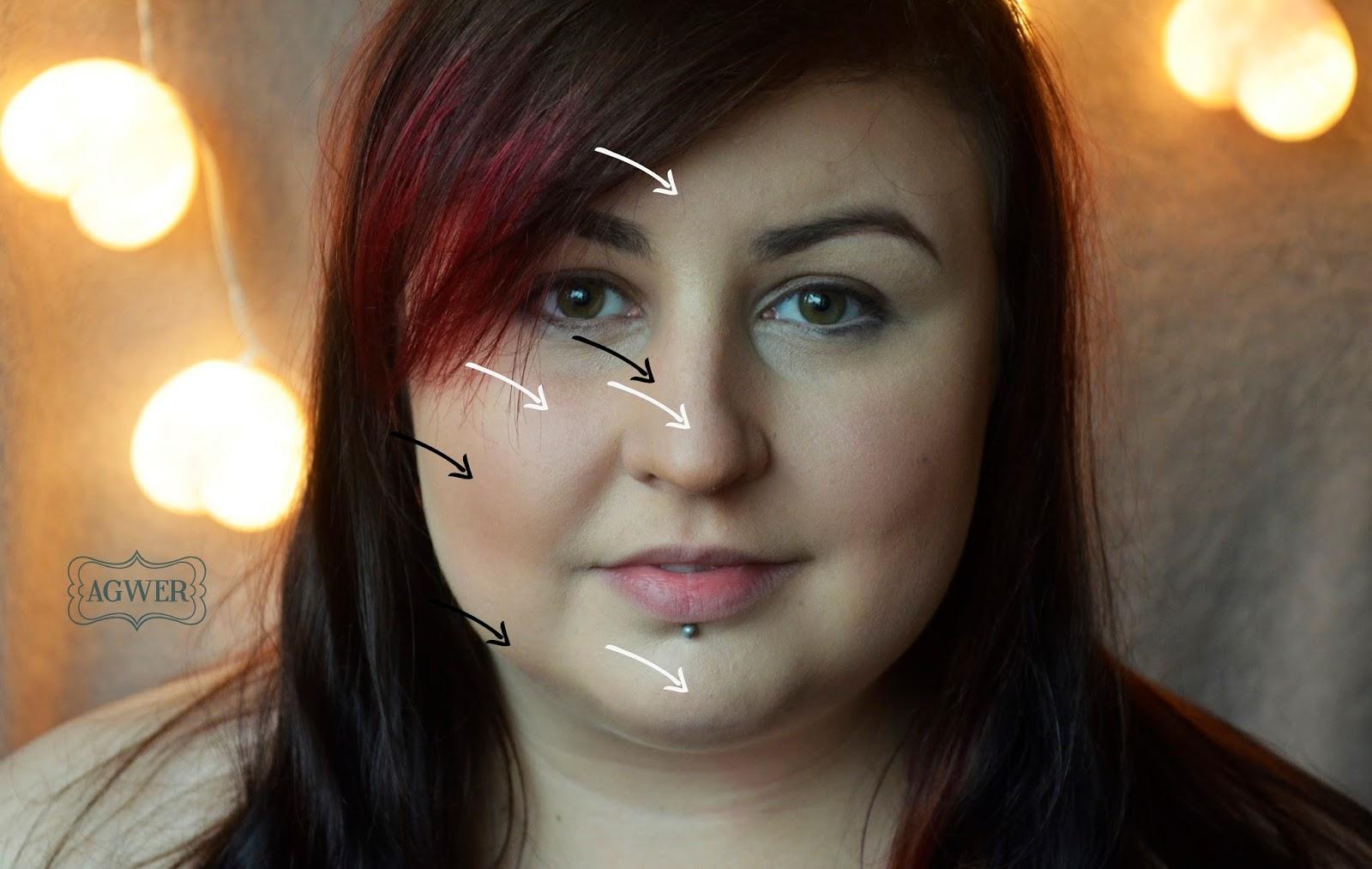 Jak konturować twarz podkładami?