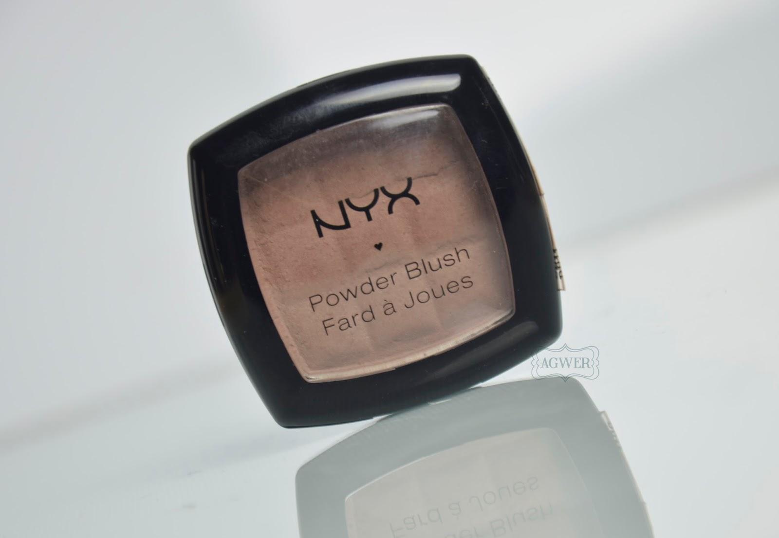 NYX Powder blush Taupe: czyli chłodny bronzer