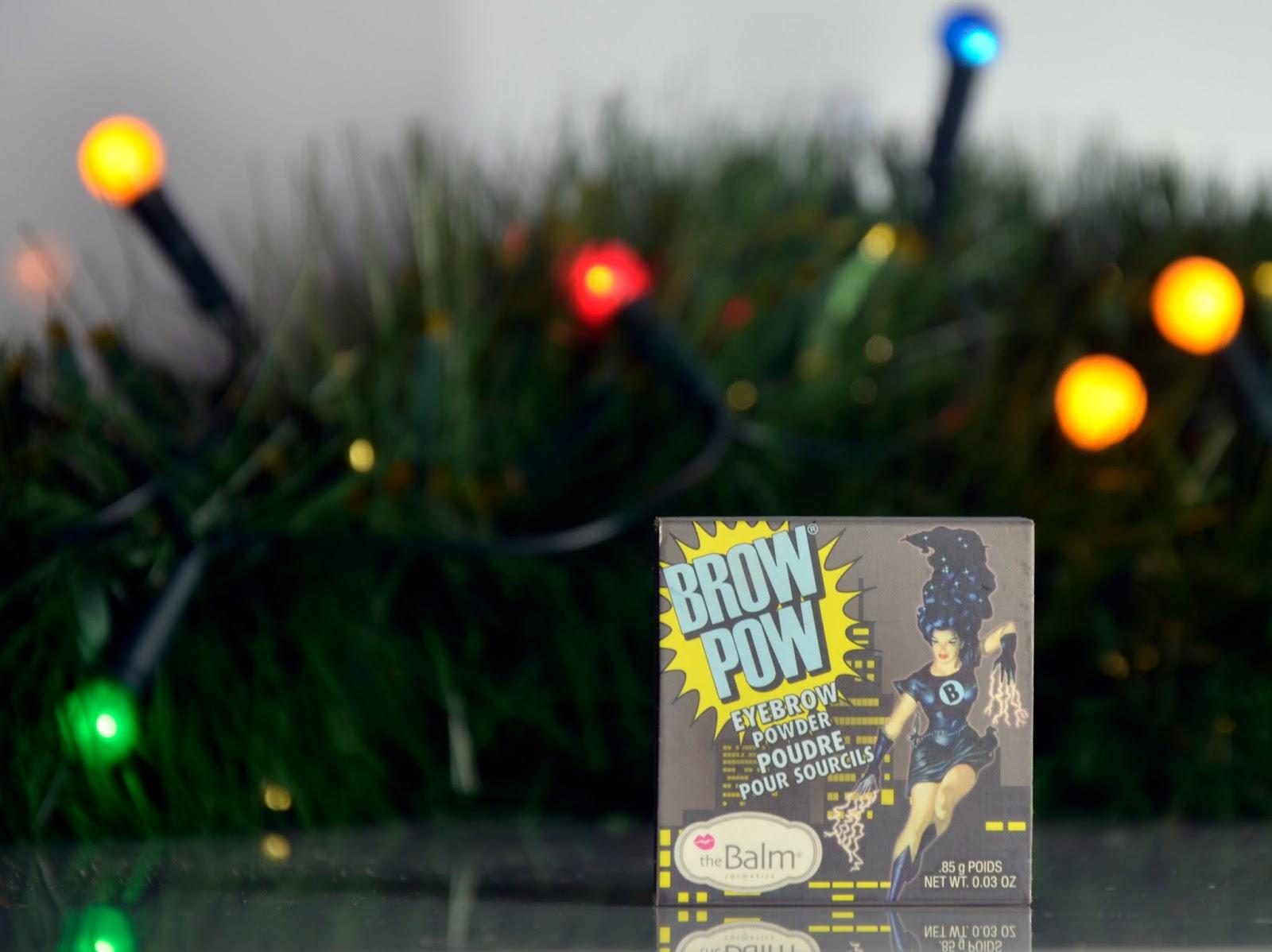 # Ulubieniec grudnia: Brow pow theBalm