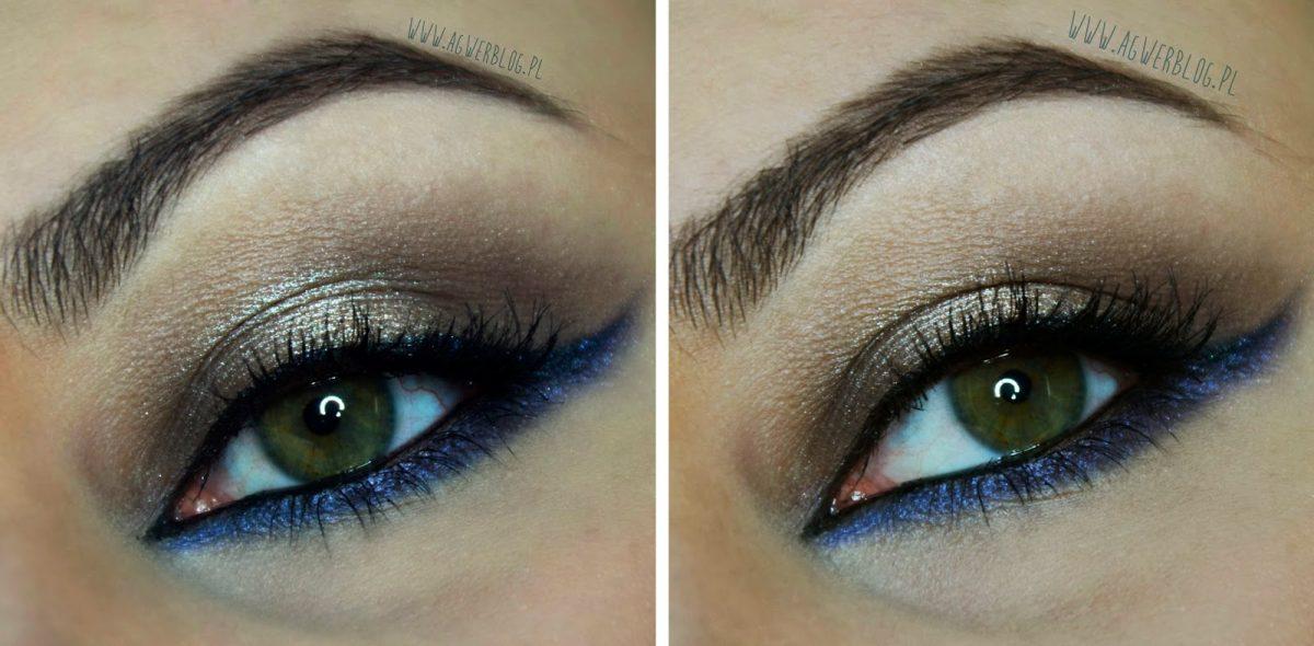 Makijaż dla brązowy oczu