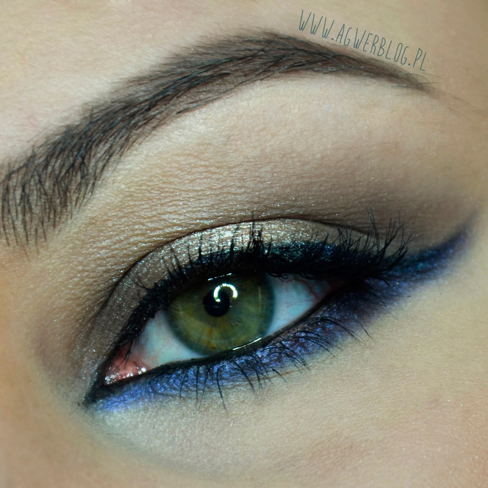 # Makijaż dla brązowy oczu na karnawał