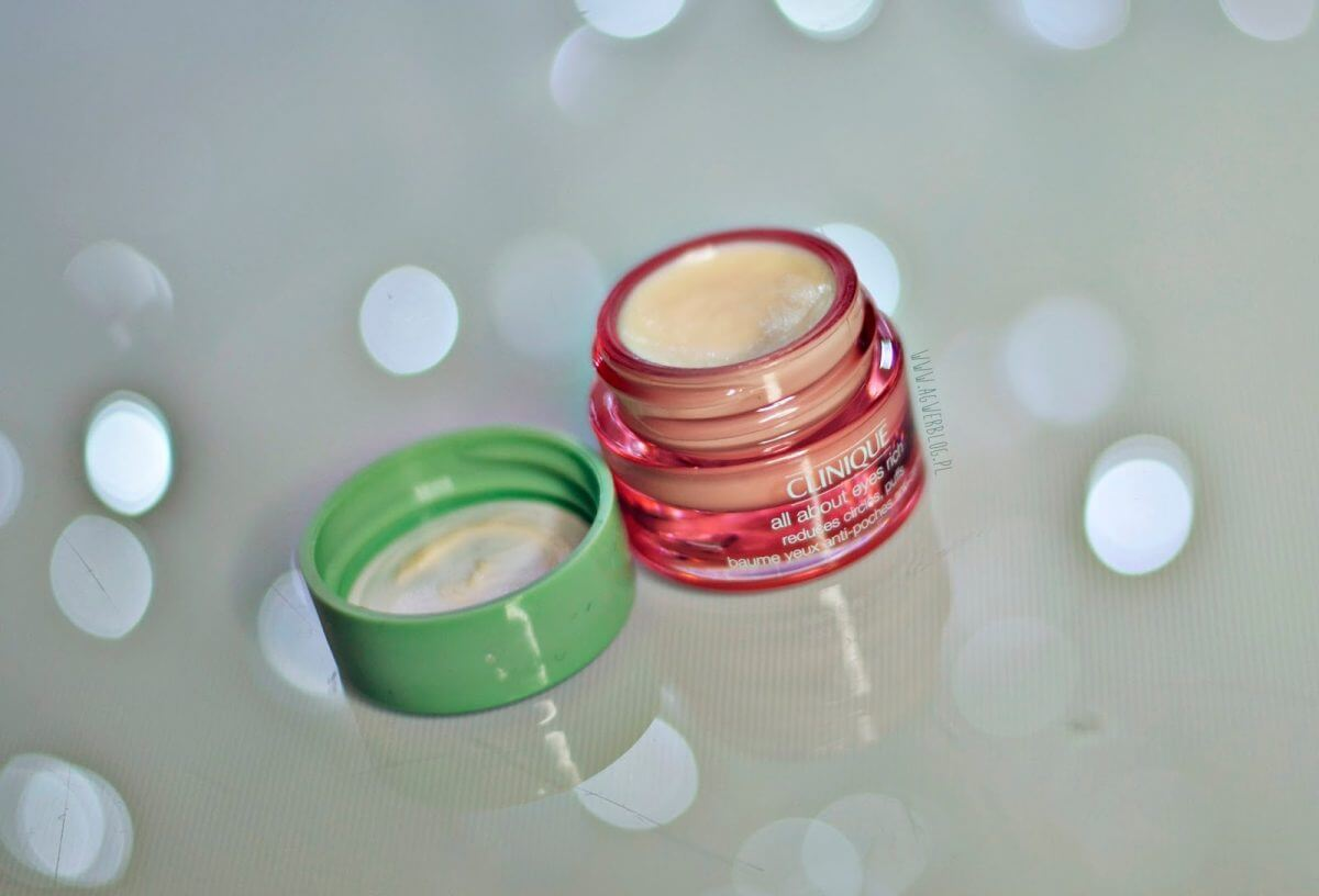 clinique all about eyes rich opinie