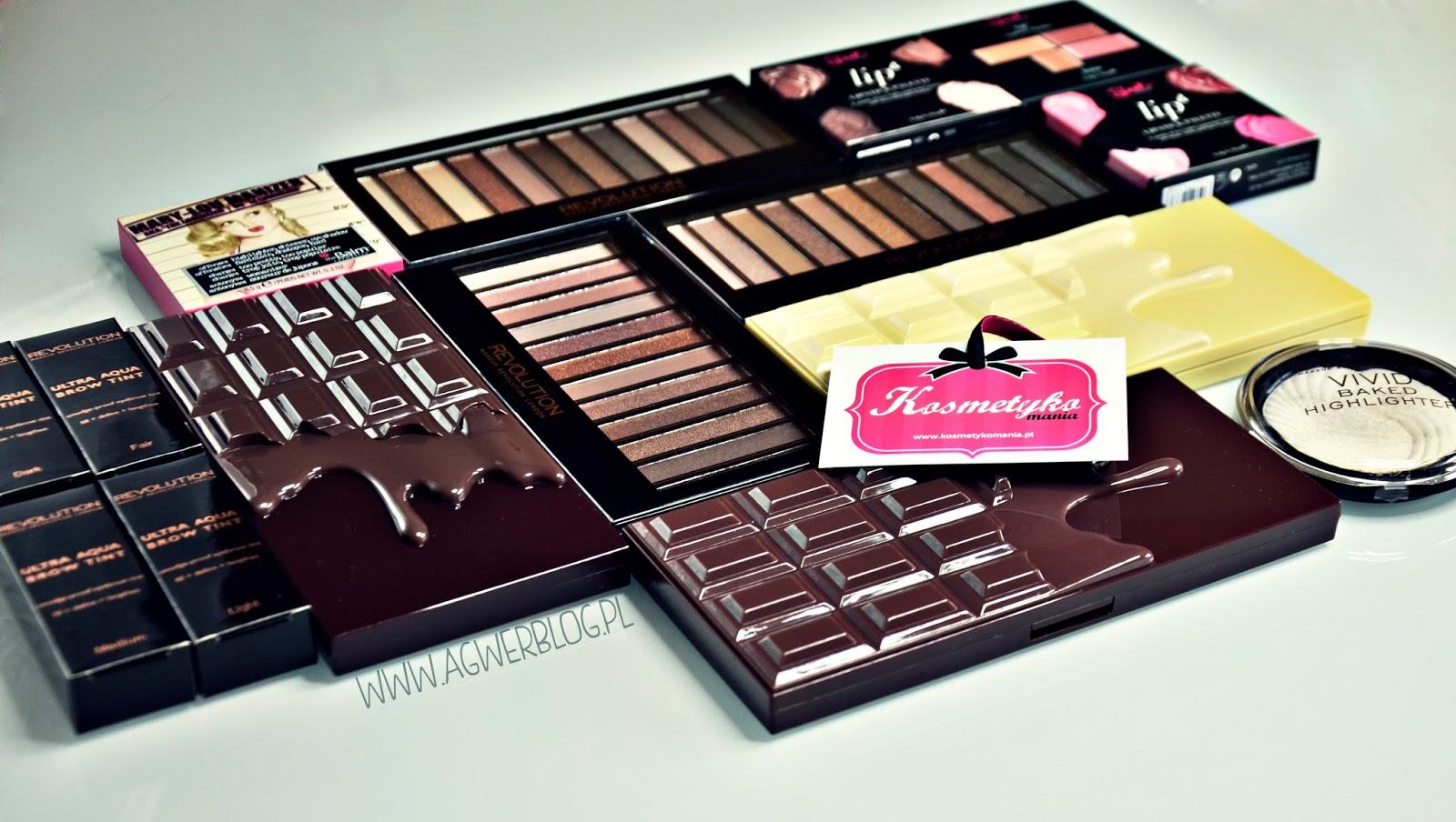 Kosmetyczne nowości | Make up Revolution, Sleek, theBalm