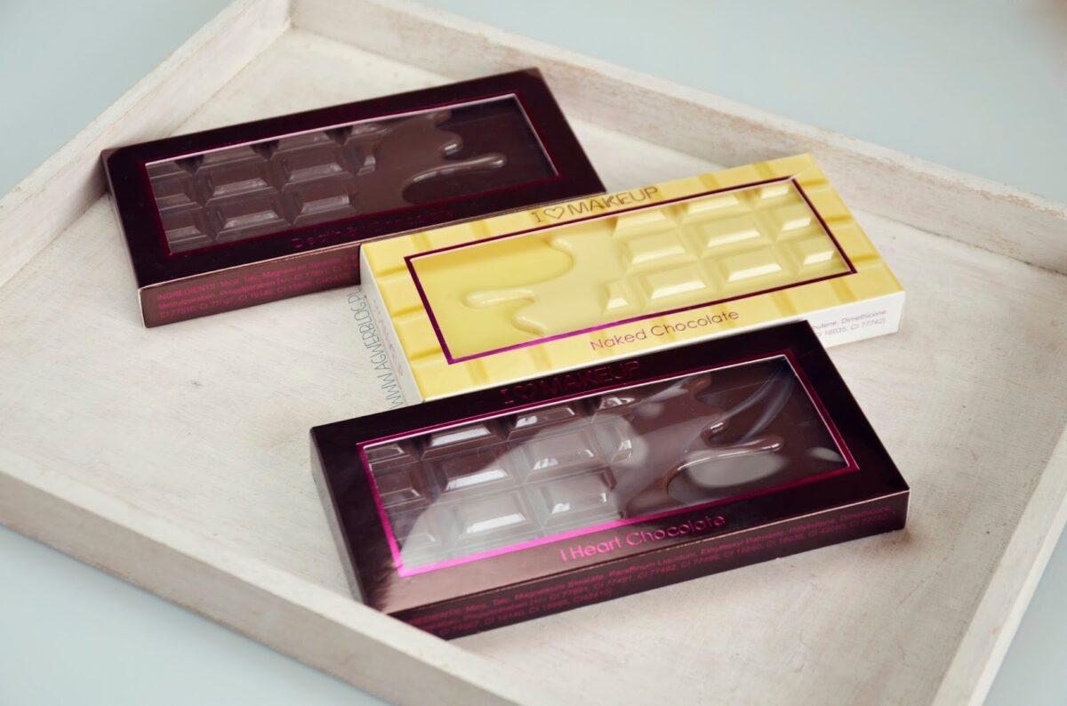 Palety czekoladowe Makeup Revolution
