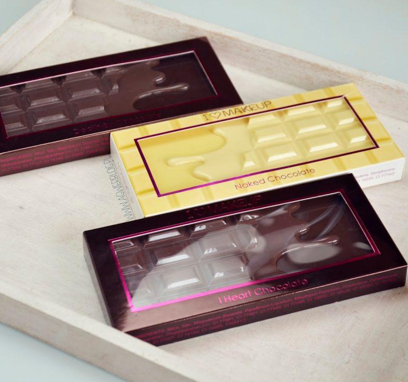 Palety czekoladowe od Makeup Revolution