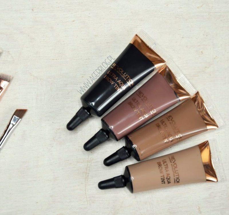 Farbki do brwi Makeup Revolution: zamiennik aqua brow?