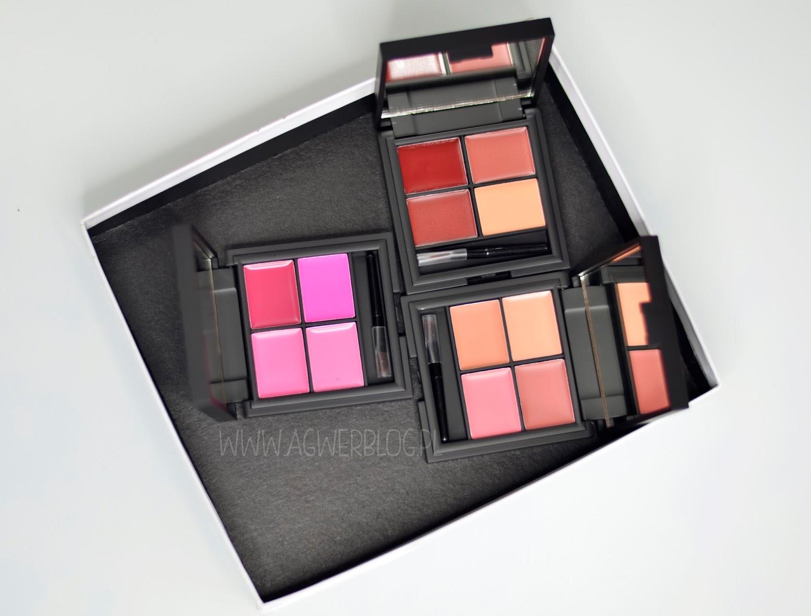 # Sleek lip 4 lipstick palette: Havana, Showgirl, Ballet