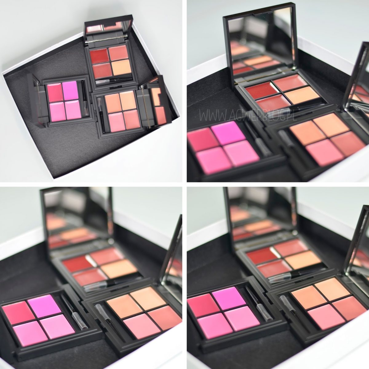 Sleek lip 4 lipstick palette