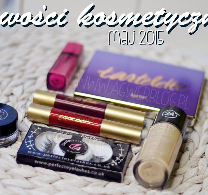 Kosmetyczne nowości | Tarte, ABH, Too faced