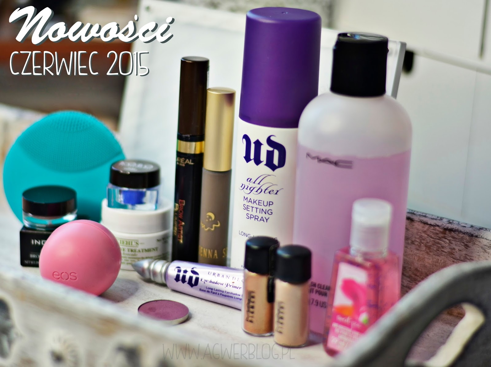 Nowości kosmetyczne | Urban Decay, Foreo Luna, MAC