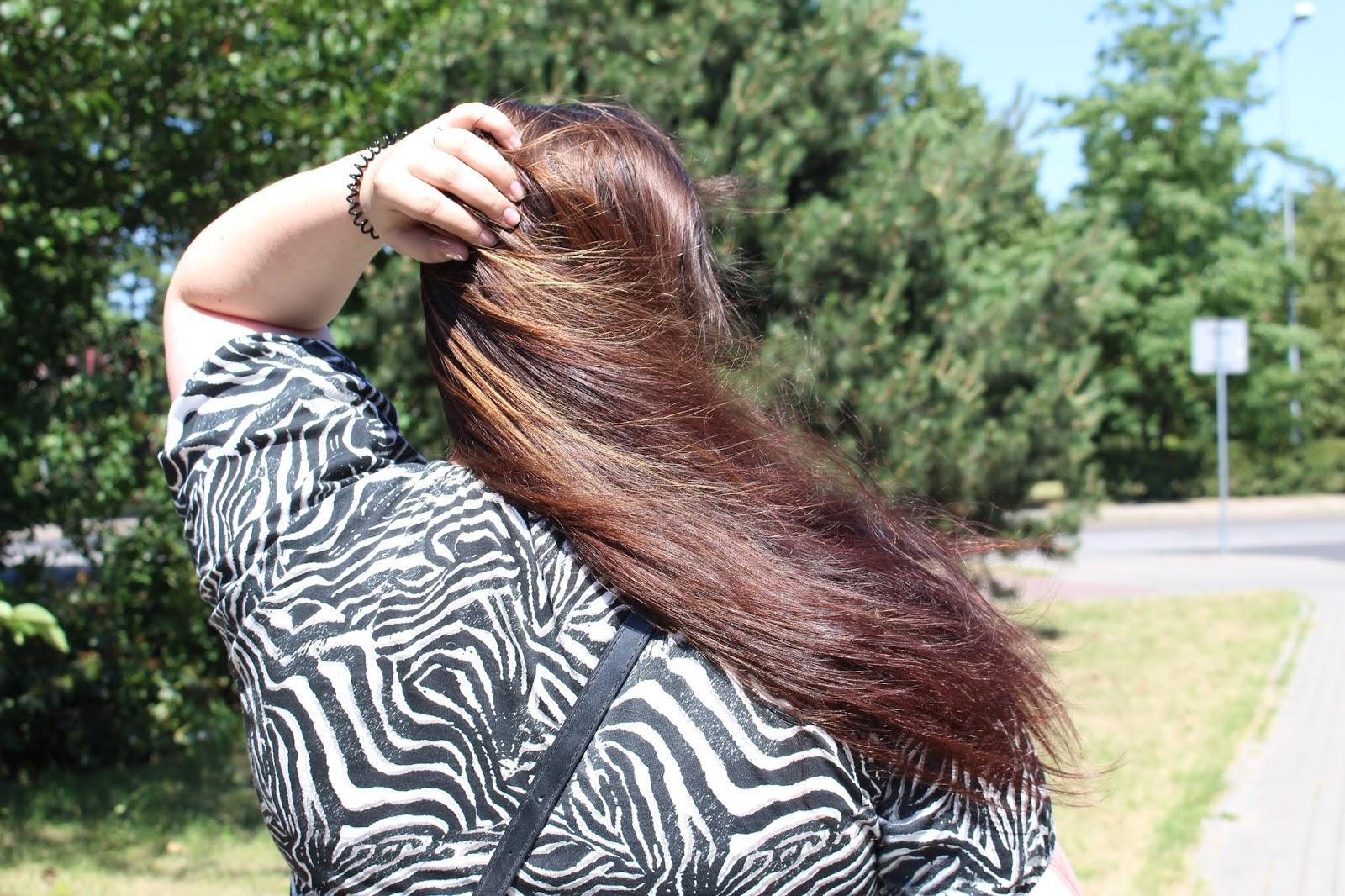 Aktualizacja włosów lipiec | fryzjer po 7 latach + WYNIKI