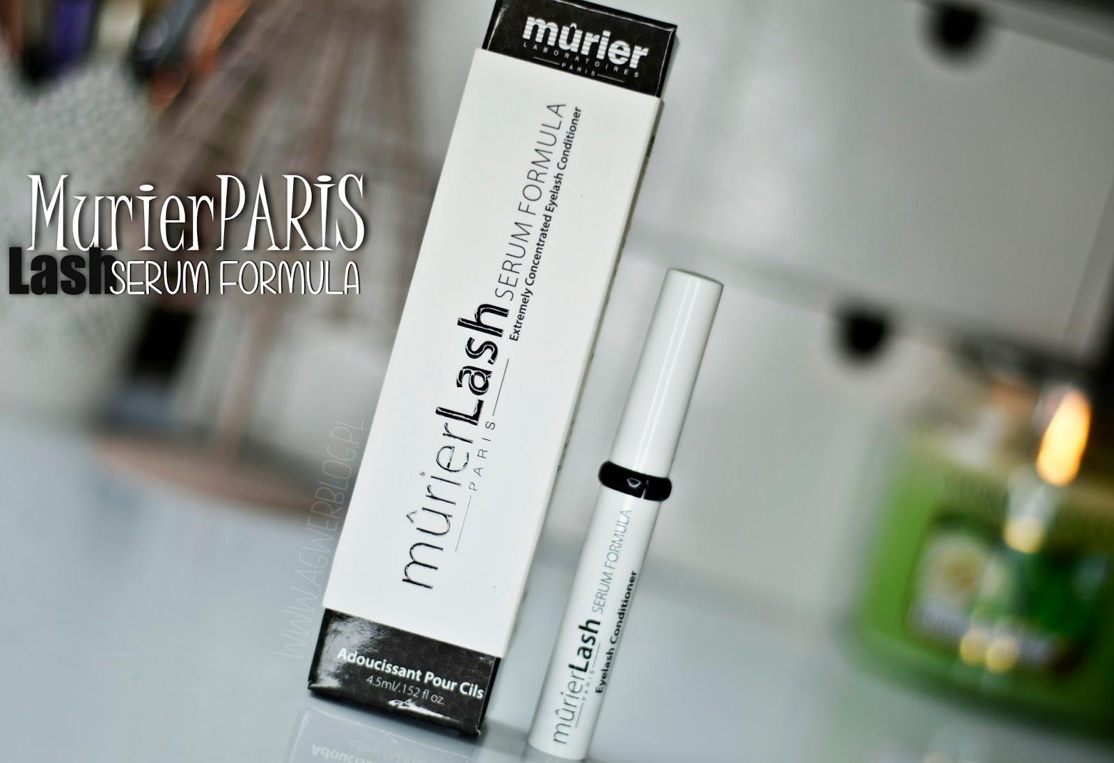 3 miesiące kuracji | Murier Paris Lash Serum formula
