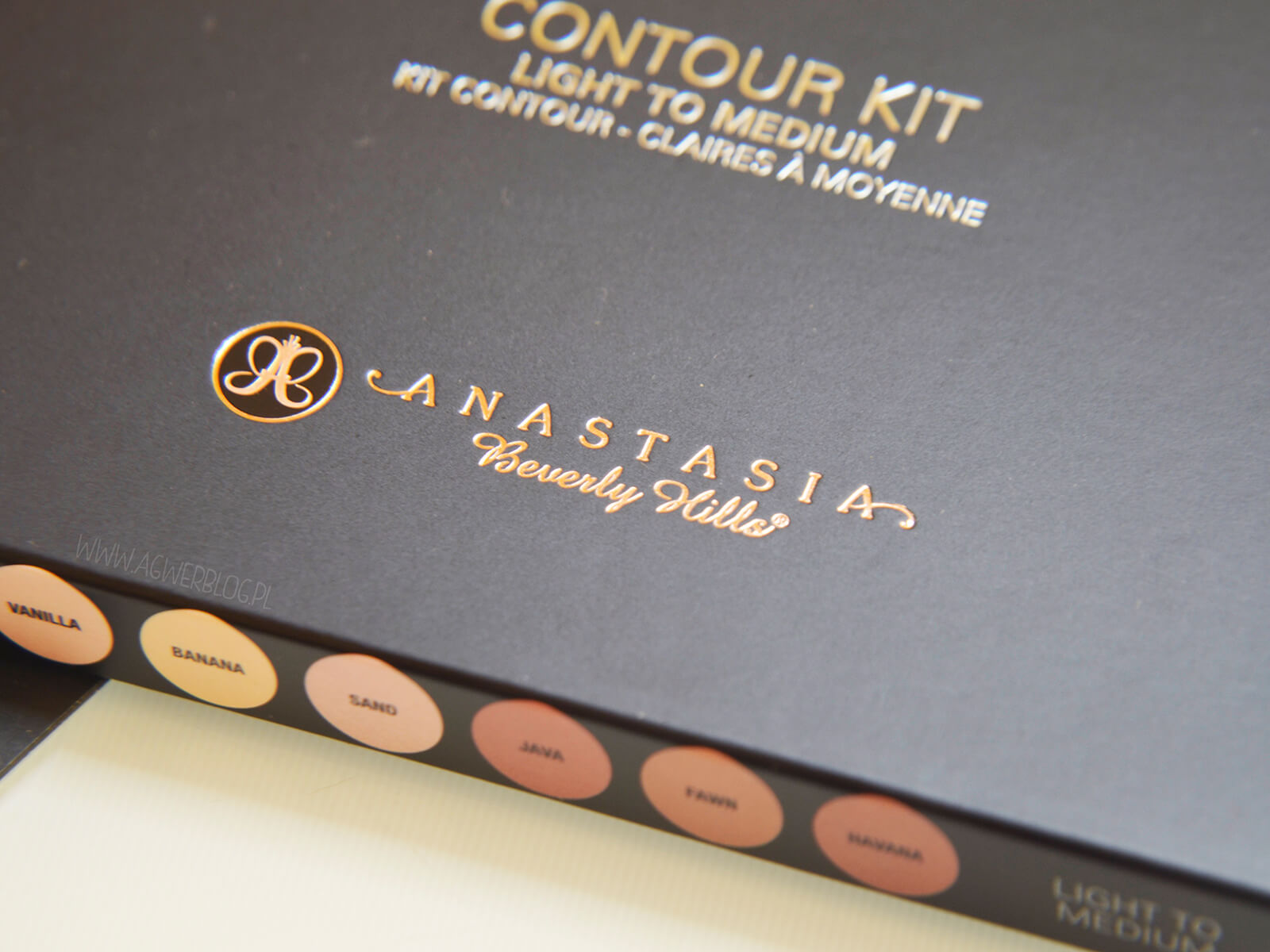 Anastasia Beverly Hills Contour kit blog