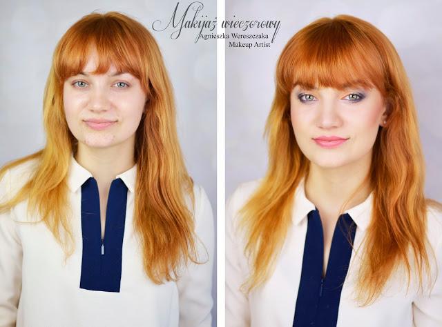 Makijaż dla rudowłosej