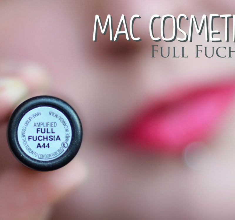 # MAC: Full Fuchsia lipstick