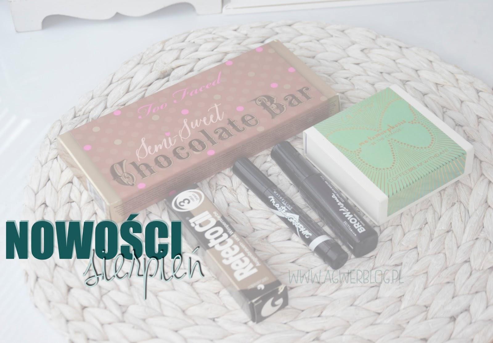 Kosmetyczne nowości | sierpień 2015