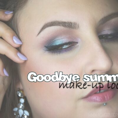 Goodbye summer makeup