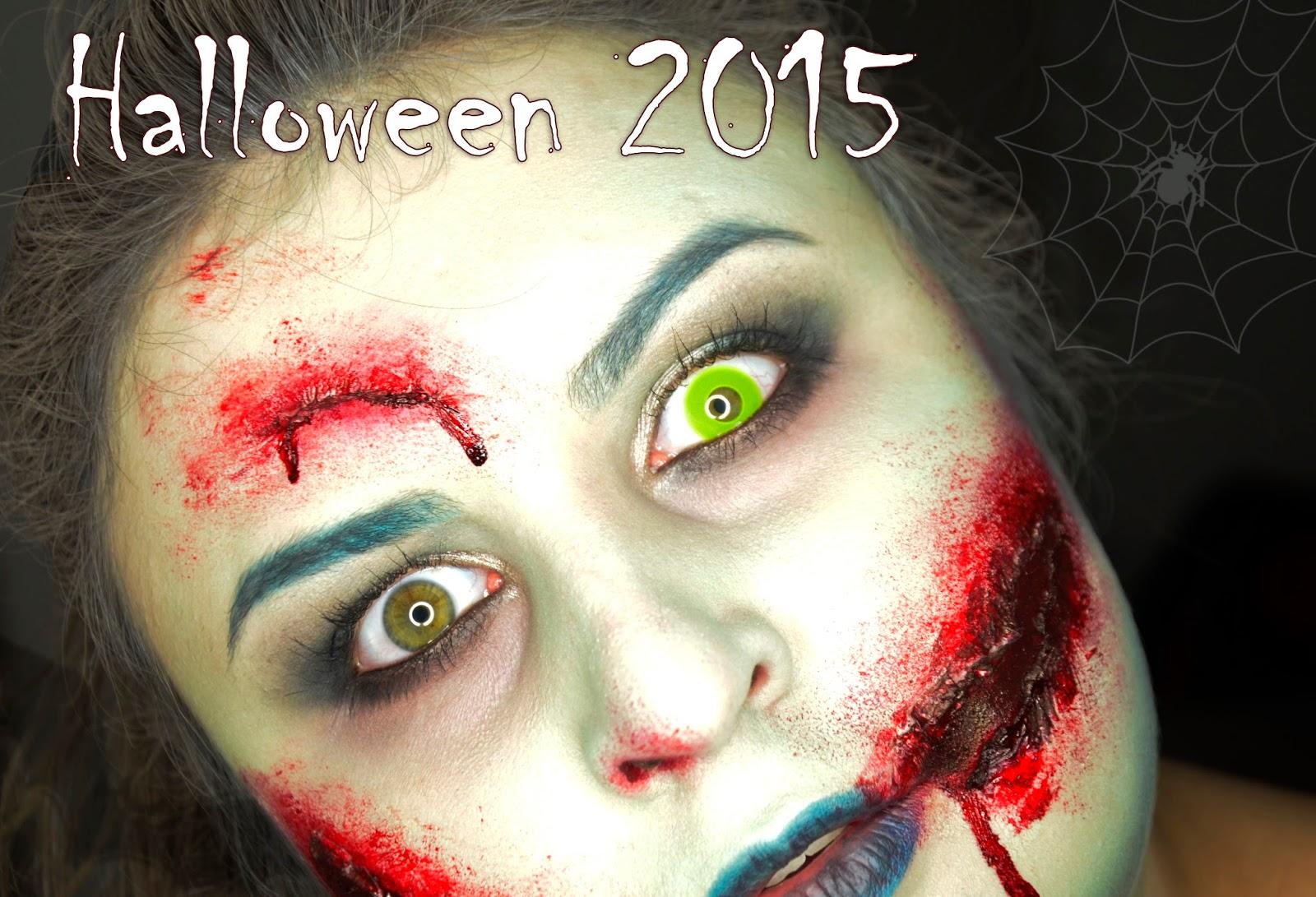 Makijaż na Halloween 2015 | Lady Zombie