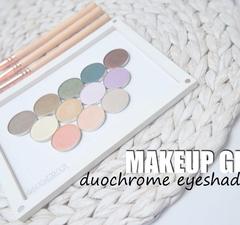 Duochrome eyeshadows Makeup Geek | swatche