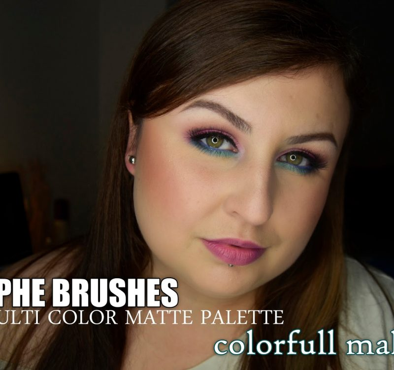 Morphe Brushes, 35c Multi color matte palette | colorfull makeup
