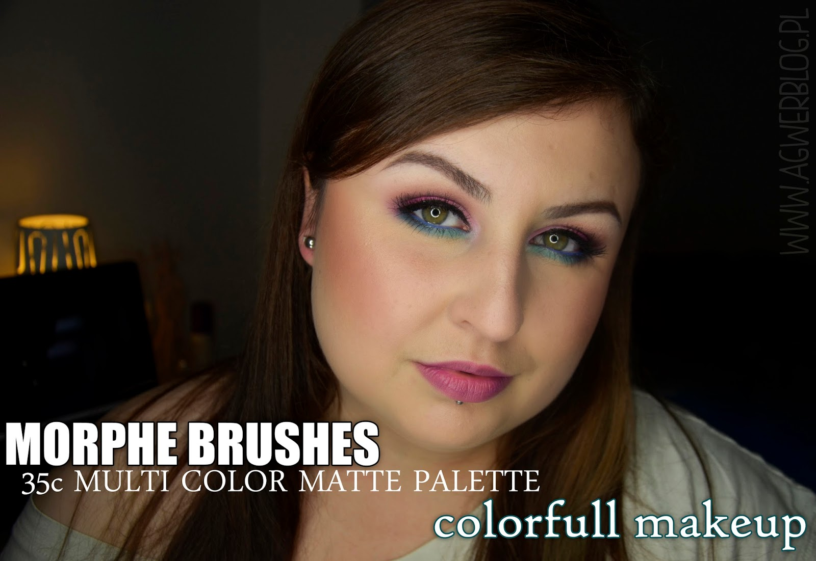 Morphe Brushes, 35c Multi color matte palette   colorfull makeup