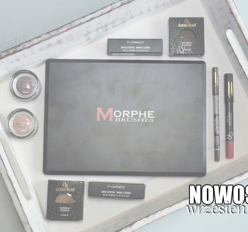 Nowości wrześniowe | Morphebrushes, Golden Rose, MAC