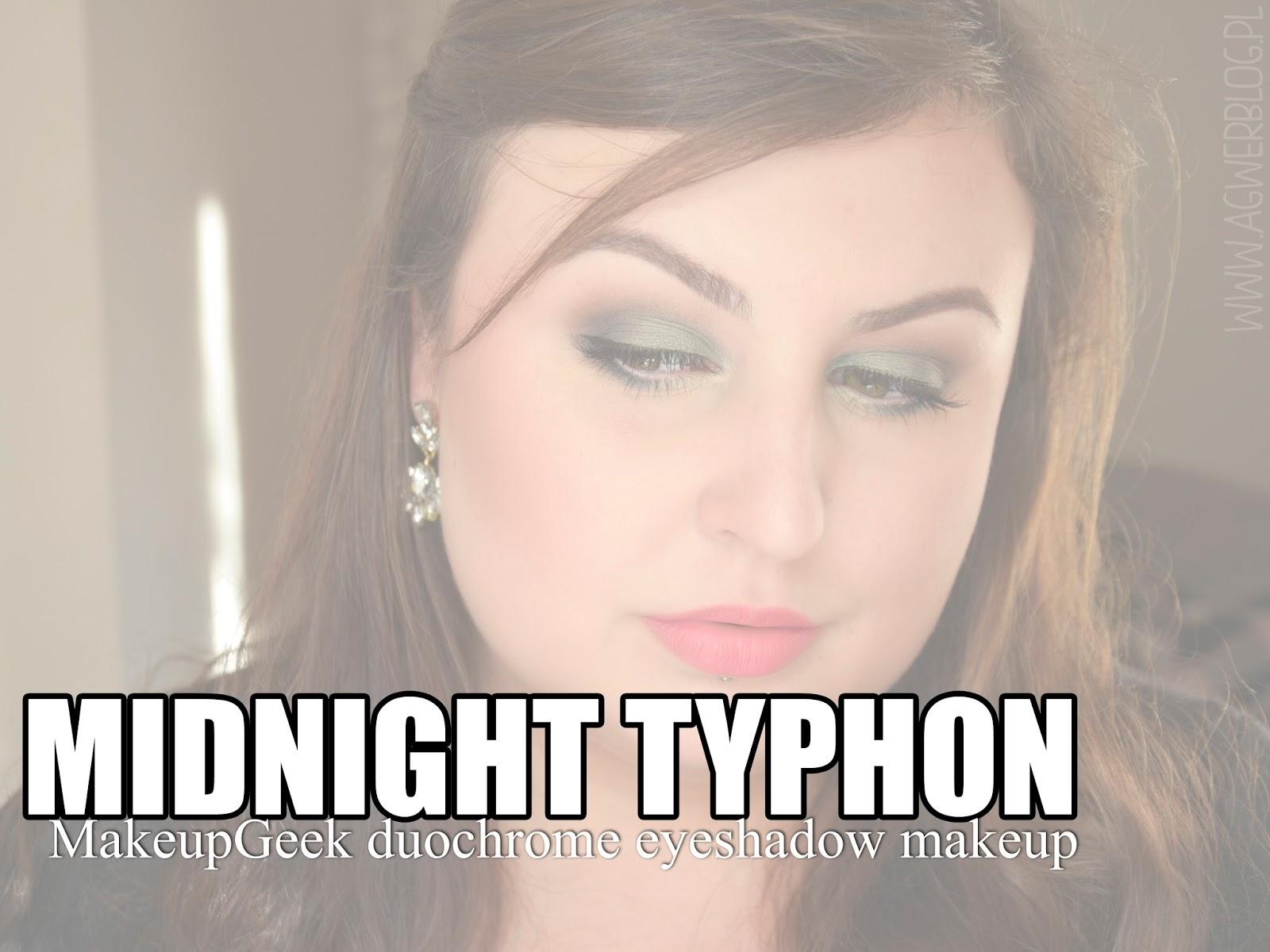 Midnight typhoon | makijaż