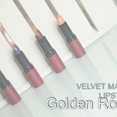 Golden Rose velvet matte | 12, 28, 29, 30