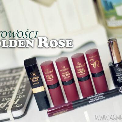 Nowości z Golden Rose | Velvet matte