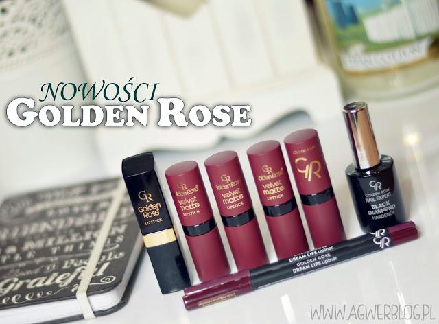 Nowości z Golden Rose   Velvet matte