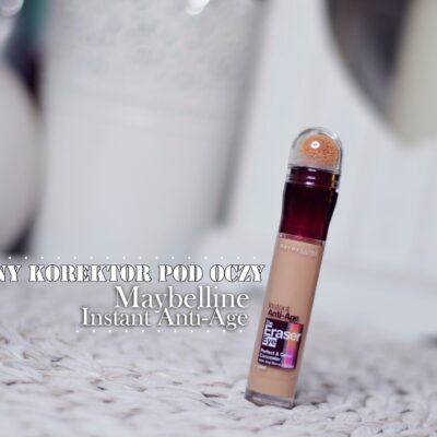 Korektor Maybelline Anti Age, the Eraser, najlepszy korektor pod oczy?