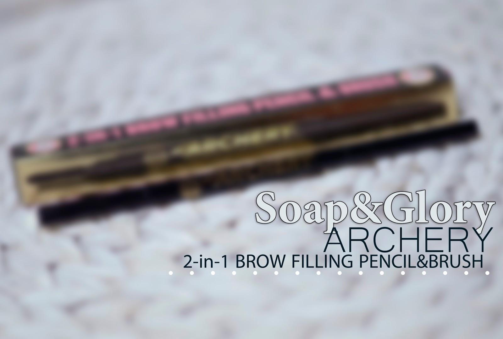 Kredka do brwi Soap&Glory Archery, Hot Chocolate