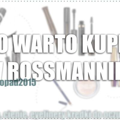 Co warto kupić w Rossmannie? | produkty do oczu -49%